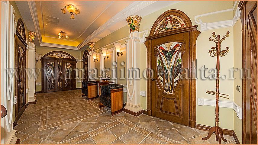холл с кухней фото